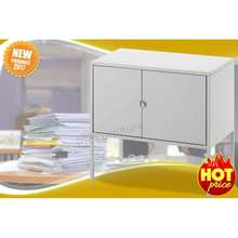 PR Furniture ตู้โลหะ ตู้เก็บเอกสาร ตู้เก็บของ ตู้เก็บของอเนกประสงค์ ตู้วินเทจ ขนาด 60X35 ซม. รุ่น Lixhult (สีเทา)