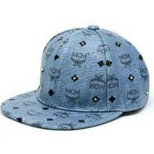 Mcm Cap Blue Jean