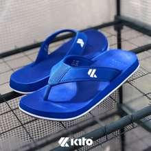kito Walk AA64 รองเท้าเตะแบบมีหู ยอดฮิต รองเท้าแตะแบบหนีบ AA64 ของแท้ 100% รองเท้าแตะ รองเท้าแตะหูหนีบ รองเท้าแตะผู้ชาย รองเท้าแบบสวม (ดำ, EU:36)