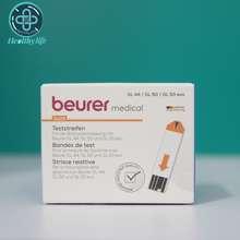 Beurer บอยเล่อร์ แถบตรวจวัดน้ำตาลในเลือด 25 ชิ้น ใช้กับ GL 44/GL 50