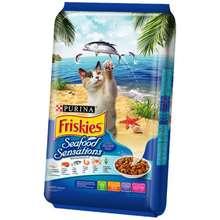 Caterpillar Friskies Seafood Sensations 7Kgx1 Free Whiskas Temptations Tuna 85 G X1 Unit