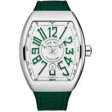Franck Muller Vanguard Automatic White Dial Mens Watch 45SCWHTWHTGRN