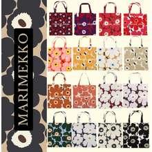 Marimekko <ลดเพิ่ม250 ใส่โค้ด 8Ddc47Ts> กระเป๋าผ้า Marimekko Totebag พร้อมส่งของเเท้ 100%