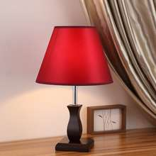 easy home โคมไฟไม้ที่ทันสมัยโคมไฟข้างเตียงนอนบ้านห้องจัดงานแต่งงานตกแต่งโคมไฟห้องนั่งเล่นศึกษา LED โคมไฟตั้งโต๊ะแสงที่อบอุ่น