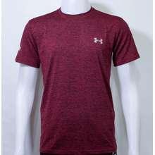 Under Armour เสื้อกีฬา Sport mens เสื้อออกกำลังกาย (ถ่ายจากสินค้าจริง) (แดง, Int:XXL)