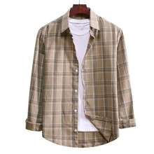 ROMWE Guys Plaid Shirt