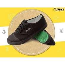 TIGER รองเท้าผ้าใบนักเรียน 💥สีดำ💥มีเก็บปลายทาง