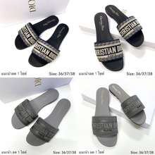 Dior Dior Sandals ของแท้ 100% [ส่งฟรี]