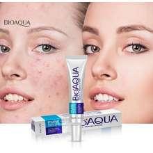 Bioaqua [ALL IN BEST CHOICE] Face Care Acne Treatment Acne Scar Removal Cream Acne Rejuvenation Cream พร้อมส่ง มีอย.ของแท้ ครีมแก้สิว ครีมแต้มสิว ลบเลือนรอยดำสิว รอยสิวจาง ขนาด 30g. (1 ชิ้น) โออควา ครีมทาสิว -Beerly_Shop