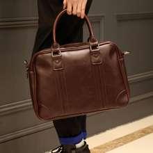 Osaka กระเป๋าถือ หรือสะพายไหล่ผู้ชาย .ใส่ note book รุ่น NE211 (Brown)
