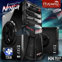 Tsunami Itsonas Computer Case Ninja (Black)