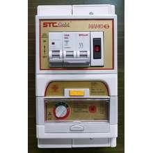 safe t cut Safe-T-Cut เครื่องตัดวงจรกระแสไฟฟ้ารั่วลงดินอัตโนมัติ STC GOLD NANO S 2P 63A รุ่น Special A V3 RCBO