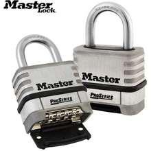 Master Lock ล็อคกระเป๋ากว้างลามิเนตเหล็กล็อค warded ป้องกันการโจรกรรม กันน้ำ ไม่มีถุงน้ำดีชั้นชั้นกุญแจหอพักล็อค