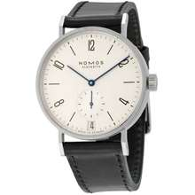 Nomos Tangomat Datum Automatic White Dial Stainless Steel Mens Watch 602