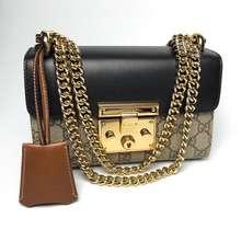 Gucci New Gucci Padlock Small Gg Shoulder Bag