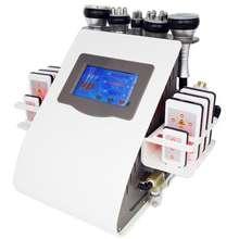 ผลิตภัณฑ์ 6 In1 เลเซอร์สูญญากาศวิทยุความถี่ Rf 40K Cavi Lipo Slimming อัลตราซาวด์การดูดไขมัน Cavitation เครื่องสำหรับสปา
