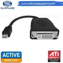Sapphire สาย Active Mini displayport to DVI (DVI-I Dual Link) No Box