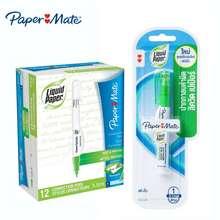 Paper Mate Paper Mate Liquid Paper Correction Pen ปากกาลบคำผิด ลิควิดเปเป้อร์ 3.5 มล. 12 ด้าม