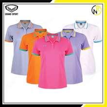 Grand sport 💥💥อย่าลืมกดคูปองส่งฟรีข้างล่างก่อนสั่งค่ะ💥💥 เสื้อโปโลหญิง แกรนด์สปอร์ต 12-785 เสื้อคอปกหญิง