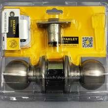 STANLEY [คุ้มมาก] ซื้อ1แถม1 ลูกบิดประตูห้องน้ำ สี Satin Stainless Steel รุ่น SHCK65-5871SSS-60-B