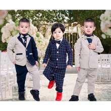 Moshi Family ชุดสูท สูทออกงาน ชุดสูทเด็กชาย ทักซิโด้ เด็กชาย Tuxedo Boy
