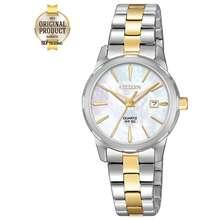 CITIZEN Quartz Ladies Watch รุ่น Eu6074-51D - 2 กษัตริย์/หน้ามุก