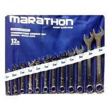 MARATHON ประแจแหวนข้างปากตาย 12 ตัวชุด เบอร์ 8-24