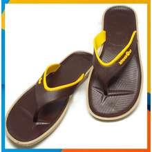 blackOut รองเท้าแตะแบล็คเอ้าท์ รุ่นเซน พื้นสีน้ำตาล หูสีน้ำตาล