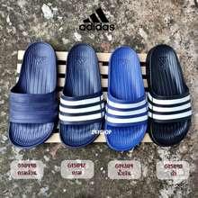 adidas รองเท้าแตะอดิดาส ของแท้ 100% Adidas Unisex Duramo Slides แบบพื้นแข็ง รองเท้าแตะ อดิดาส อาดิดาส พร้อมส่ง