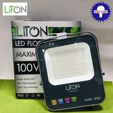 LITON ฟลัดไลท์ LED 100W รุ่น MAXIMUS โคมฟลัดไลท์ ป้องกันไฟกระชาก