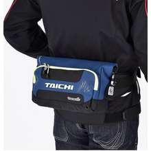 Taichi แฟชั่นผู้ขับขี่เอวกระเป๋ารถจักรยานยนต์ขี่จักรยานเอวกระเป๋าคาดหน้าอก กันน้ำกระเป๋าคาดเอวสำหรับชาย01040101