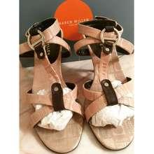 Karen Millen รองเท้าส้นสูง สีน้ำตาล Size38