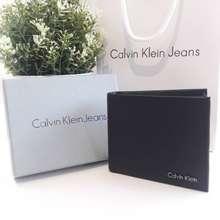 Calvin Klein Set กระเป๋าสตางค์ชาย Short Wallet กระเป๋าสตางค์ใบสั้น ของแท้100%