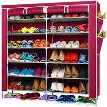 HAKONE ชั้นวางรองเท้า 42 คู่ สีแดง ไทย
