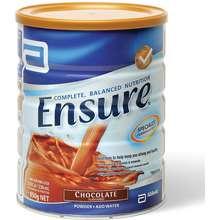 Ensure Complete Balanced Nutrition Powder Chocolate 850g ไทย