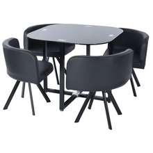 Delicato ชุดโต๊ะอาหาร 4 ที่นั่ง รุ่น PIZZA ไทย
