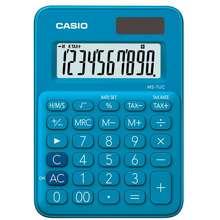 Casio เครื่องคิดเลข MS-7UC ฟ้า ไทย