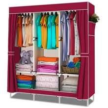 Hommy ตู้เสื้อผ้า DIY 3 บล๊อค รุ่น E สีแดง ไทย