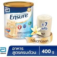 Ensure Complete Balanced Nutrition Powder Vanilla 400g ไทย