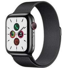Apple Watch Series 5 สีดำสเปซแบล็ค 44mm สแตนเลสสตีล ไทย