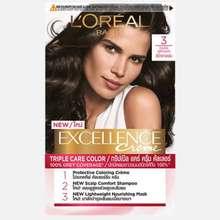 L'Oréal L'Oréal Excellence Creme ครีมเปลี่ยนสีผมถาวร น้ำตาลเข้ม