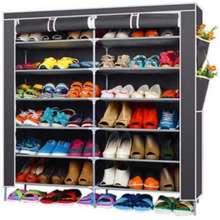 HAKONE ชั้นวางรองเท้า 42 คู่ สีเทา ไทย