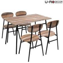 U-RO DECOR ชุดโต๊ะกินข้าว รุ่น SONOMA ไทย