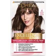 L'Oréal L'Oréal Excellence Creme ครีมเปลี่ยนสีผมถาวร น้ำตาลธรรมชาติ