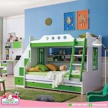 Dream Cars Kid เตียง2ชั้น รุ่น Green And Tree ไทย