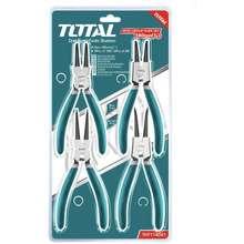 TOTAL Hand Tools 4pcs Cir clip Pliers Set THT114041 ไทย